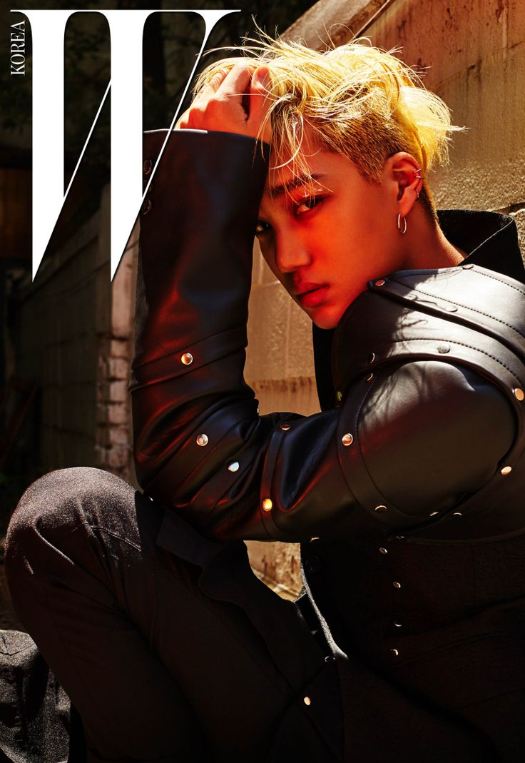 Kai EXO - W Magazine July Issue '16