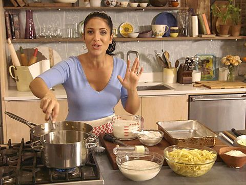 Laura Vitale makes her nonna's easy vegetarian version of her al forno pasta in this web-only video from Simply Laura on Cooking Channel.