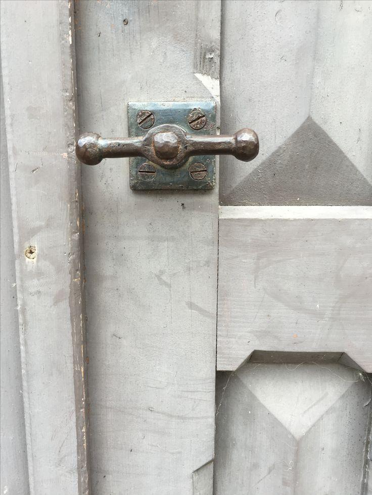 Door handle around 1880, Sweden.