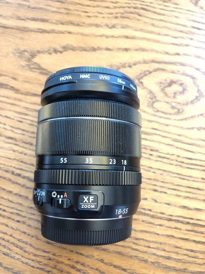 Fujifilm Fujinon Xf 18 55mm F 2 8 4 Ois Lm R Lens Fujifilm Lens Powerade Bottle