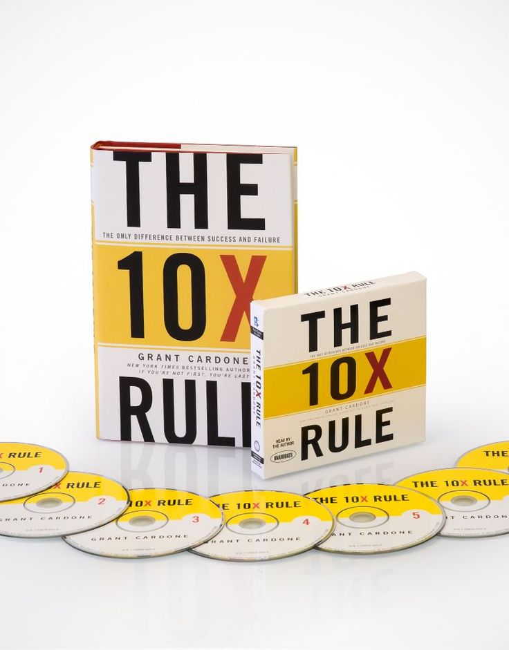 Grant Cardone's book The 10X Rule! http://buildingabrandonline.com/justesen/take-action-and-read-grant-cardones-book-the-10x-rule/