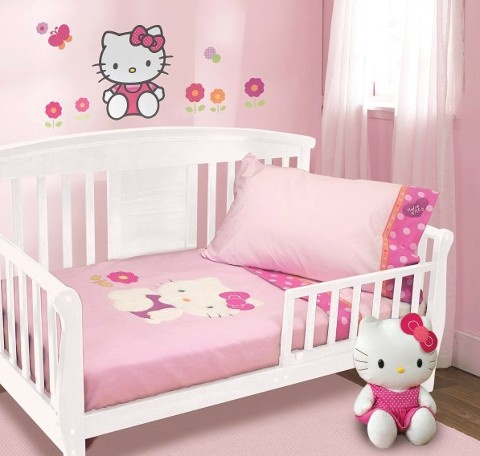 hello kitty baby girl bedroom decor for the baby pinterest