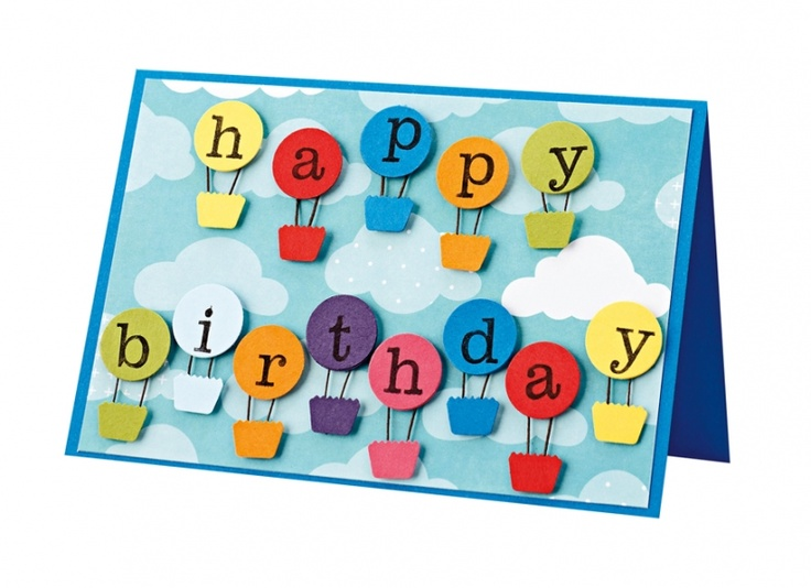 What a great idea for a birthday card...gotta try this for a simple and easy card