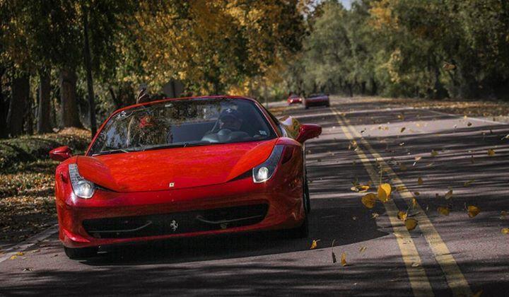 Cruce de Los Andes #Ferrari #OtoñoEnMendoza