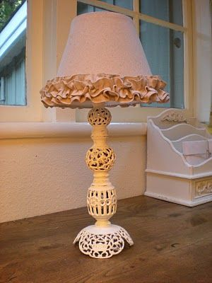 Reloved Rubbish: Tutorial Tuesday: How to Recover a Basic Lamp Shade