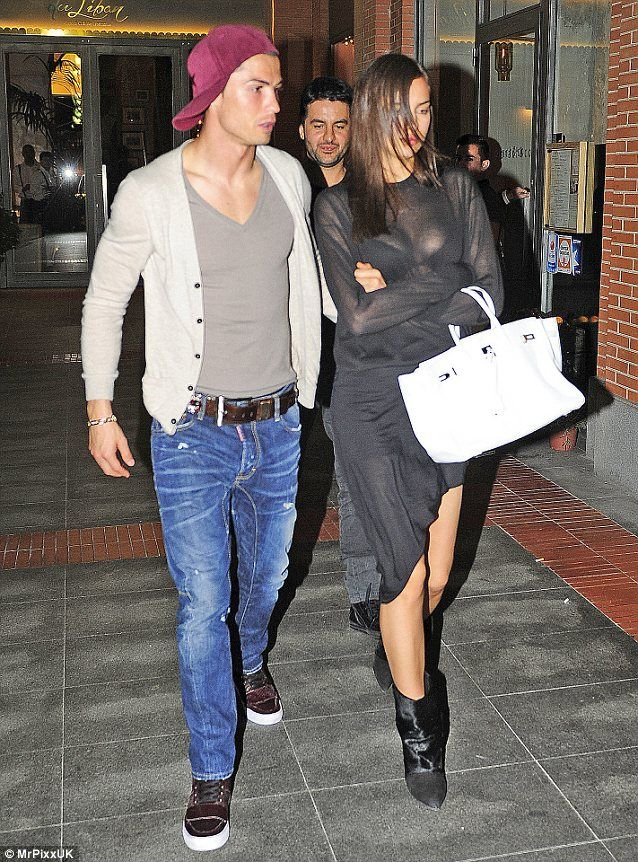 Irina Shayk and Cristiano Ronaldo