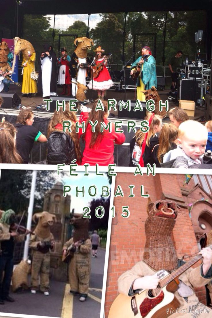The Armagh Rhymers at Féile an Phobail 2015  Belfast   An Culturlann - Carnival Parade - Party in Falls Park