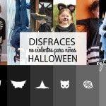 Disfraces de Halloween no violentos para niños hechos en casa. Sencillos y económicos