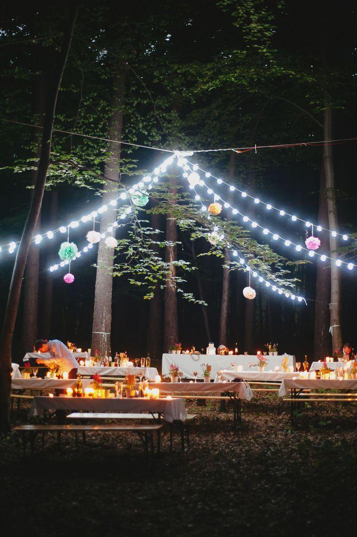 magic night, wedding day, forest