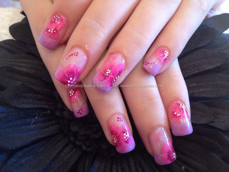 17 best nails one stroke images on pinterest one for Acrylic nails salon