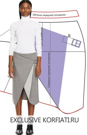 Skirt custom cut