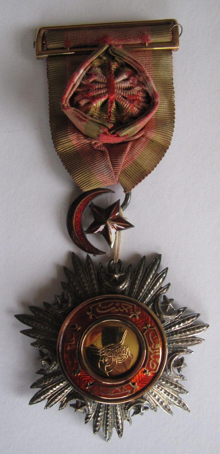 Ottoman Empire pasha medal