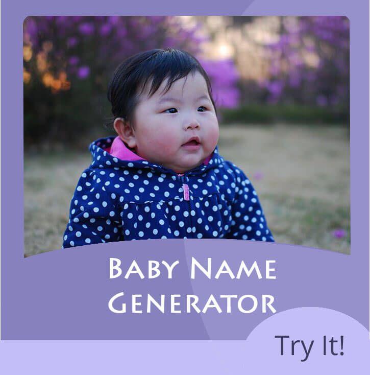 Baby Name Generator using the parents names - random name generator