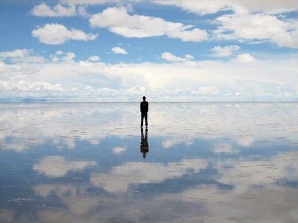 salt flats in Bolivia: Sky, Salts Flats, Rainy Seasons, Cloud, Earth, Bolivia, Watches, People, Heavens