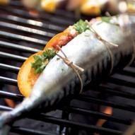 BBQ Gevulde makreel - Taste-Inspiration