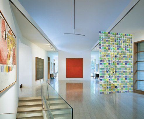 Contemporary Entrance Hall By Andre Putman And Bill Booziotis In Dallas Texas