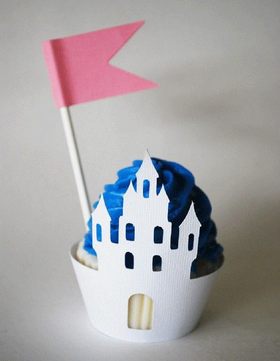 castle cupcake wrappers