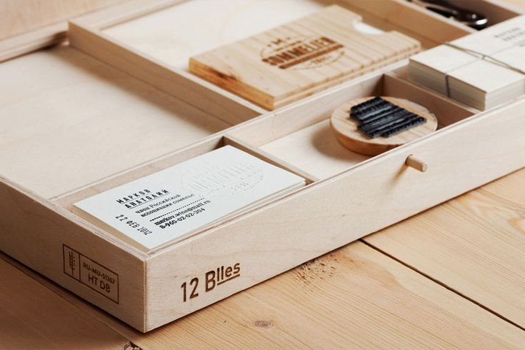 Russian design Pavel Emelyanov love wood and has an unique way to use it in his design... This Sommelier project is the perfect exemple...