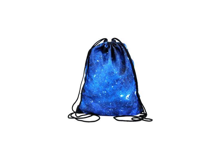 Vak na záda Gymsack s potiskem - Galaxy Blue
