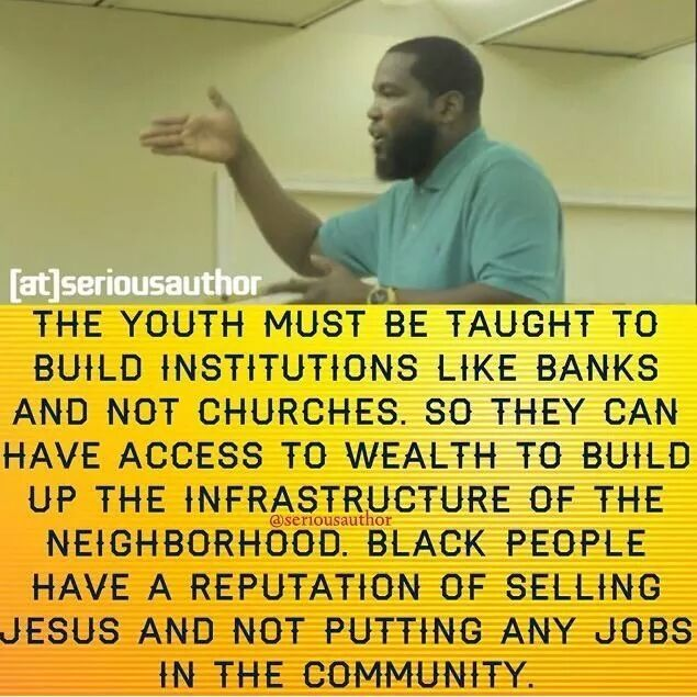 One of the few brothas puttin in that work… Bro. Umar Johnson