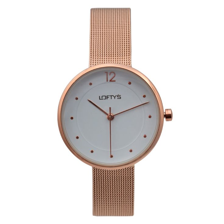Ladies Watch with Rose Gold Bracelet Y 2008RG - https://www.loftyswatches.com/shop/ladies-watch-with-rose-gold-bracelet-y-2008rg/