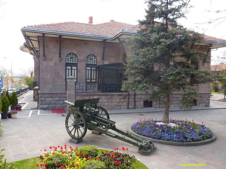 War of Independence Museum, housed in the first Turkish Grand National Assembly building in the Ulus district of Ankara, Turkey, displays important photographs, documents and furniture from the Turkish War of Independence.
