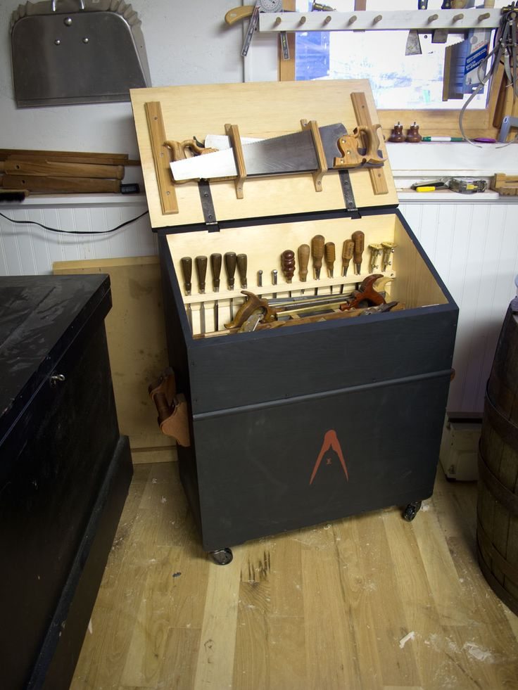 dutch tool chest by Chris Shwarz. You recognize a crafstman by its tools!