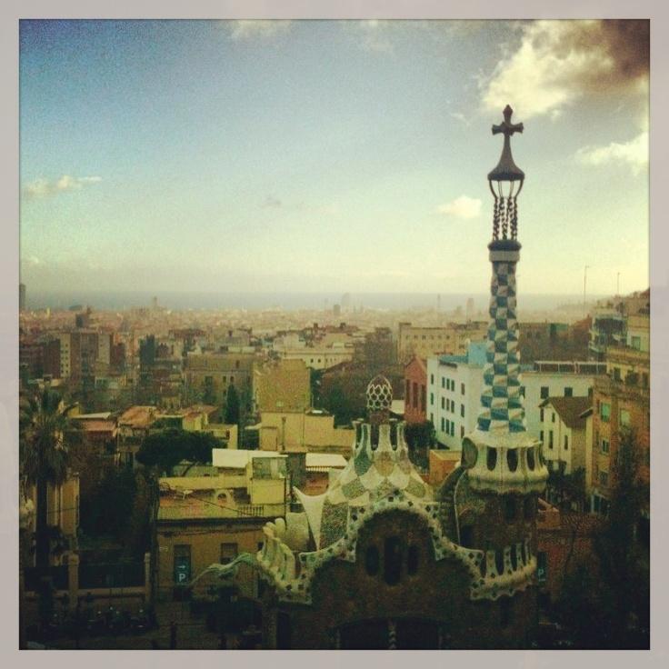 Park Güell. Barcelona. Gaudí !