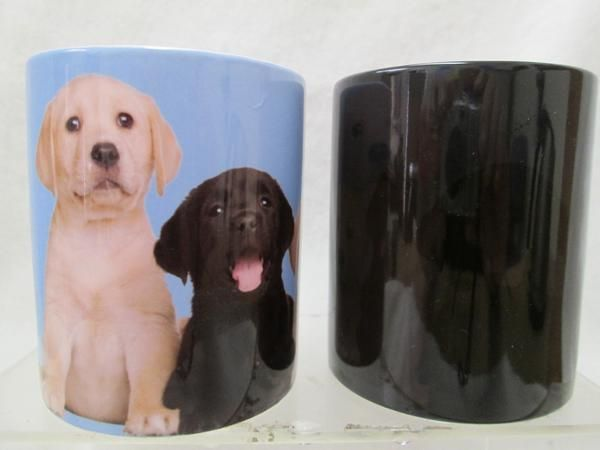 """Magic Mugs are Great Christmas Holiday Gift Ideas! Add any warm beverage coffee, tea, hot chocolate and watch the """"Magic"""" happen!"""