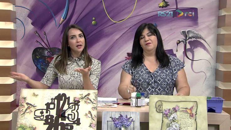 Mulher.com - 13/02/2017 - Envelhecimento com craquelê - Celia Bonomi P1