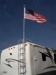"Flag Pole Buddy - 1"" RV Flag Pole Kit -RVupgrades.com"