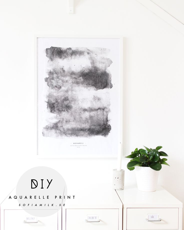 Akvarellprint | Sofiamilk
