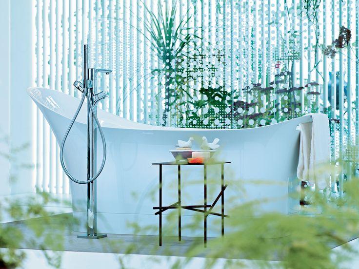 grifo-bañera-axor-urquiola-hansgrohen que podrás comprar en terraceramica.es #grifos #grifería #baños #diseño #arquitectura #terraceramica