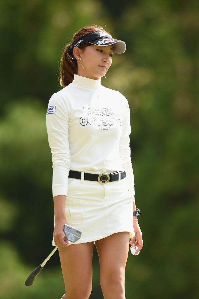 江澤亜弥 画像と写真 - Getty Images   女子ゴルフ, ゴルフ 美人