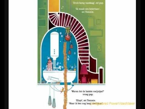 Tommie en de torenhoge boterham, digitaal prentenboek voor kleuters