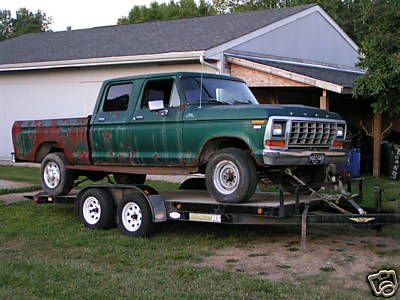 cat/1979-ford-4x4-crew-cab-for-sale.html: 1979 Ford, Ford Trucks, Ford