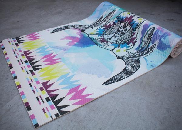 custom yoga mat, navajo yoga mat, printed yoga mat, yoga accessories, yoga gift, cool yoga mat, yoga mat design.