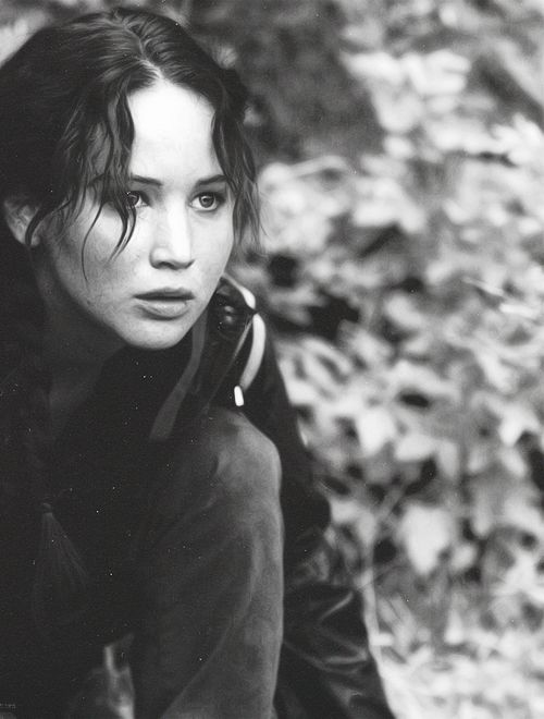 Okay, Katniss Everdeen is not a real person but still.. Her character is very inspiring, so yeah..