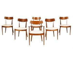 "Kipp Stewart & Stewart McDougall ""Declaration"" Dining Chairs for Drexel"