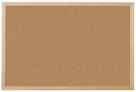 Tableau fond liege Liege naturel niceday 60 H x 90 l cm Blanc par Office Depot
