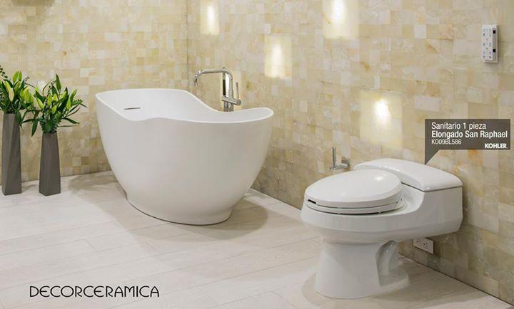 Mejora el rendimiento y poder de limpieza con el #sanitario San Raphael #Kohler #Decorceramica http://bit.ly/1MYwyBr