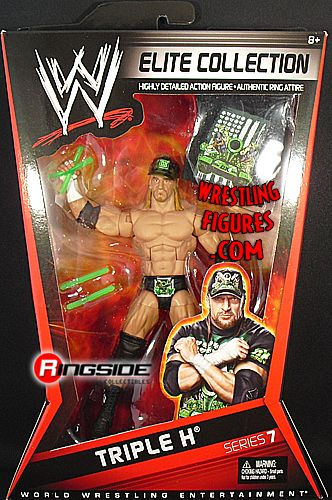 RINGSIDE COLLECTIBLES:  WWE  TRIPLE H ELITE 7