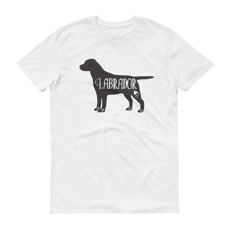 Labrador T-Shirt, Labrador Dog Breed Tee, I Love My Labrador, Lab T-Shirt