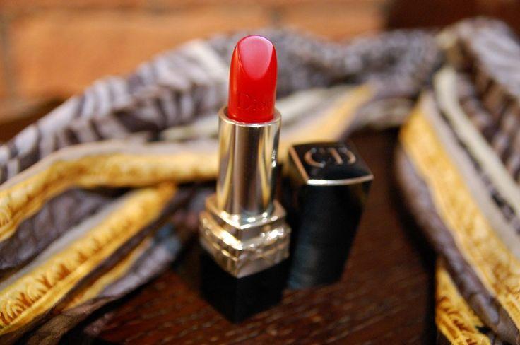 Dior 999 Couture Colour Voluptuous Care lipstick