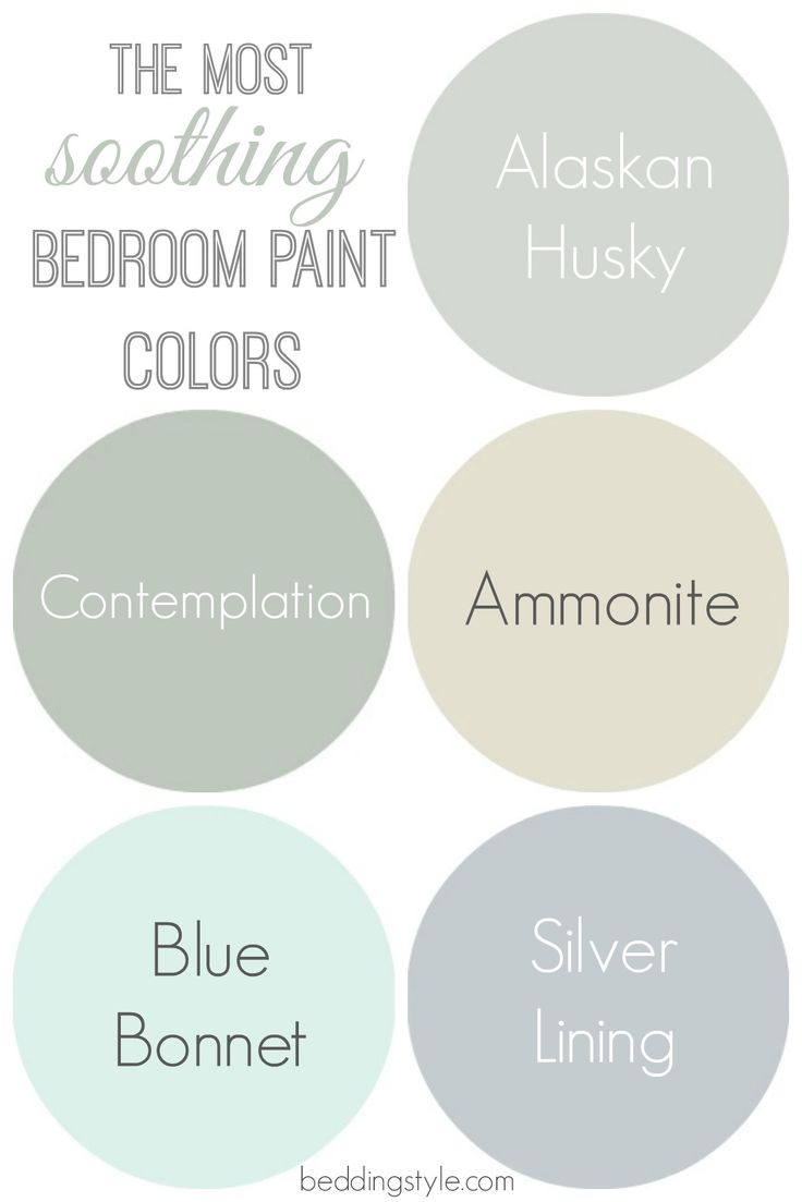 Zen paint colors for living room - Soothing Bedroom Paint Colors