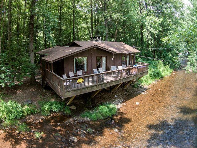 Helen, GA Cabin Rentals | River`s Edge | 2 BR Cabin on the Chattahoochee