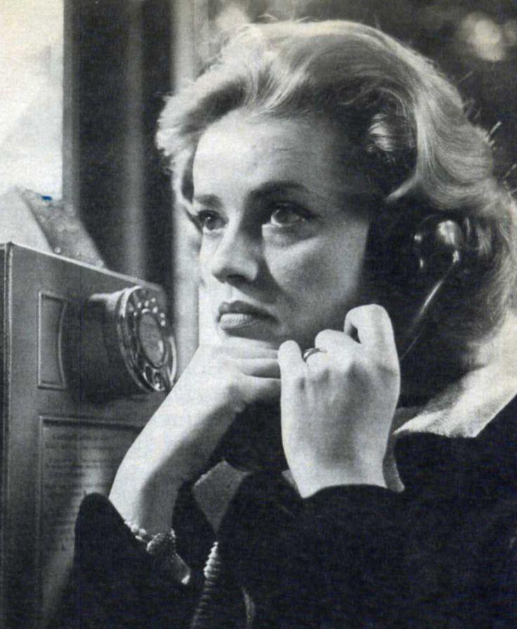 """Jeanne Moreau en """"Ascensor para el Cadalso"""" (Ascenseur pour l'Echafaud), 1958"""