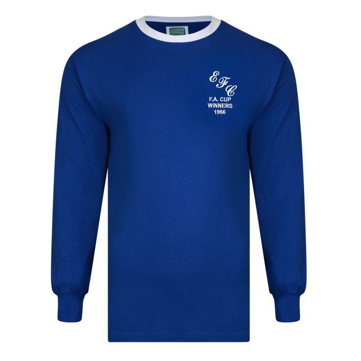 Everton 1966 FA Cup Final shirt