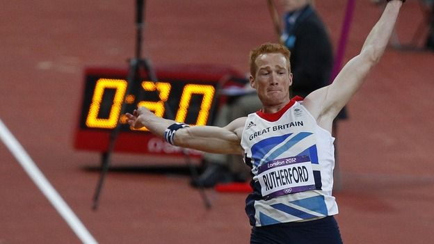 Greg Rutherford wins Olympic Gold for Team GB in the long jump.    http://www.konkura.com/challenge/?uid=00c8ecac-505d-443e-a71e-2b4583486db0=Get+Fit+for+London+2012+The+Gold+Edition+Gym+Triathlon