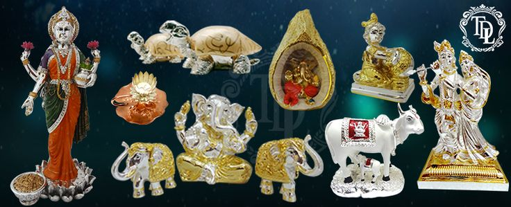 Exchanging gifts is a way to show your love and care towards a person. According to me, it is a way to give your own personal brand of souviner to the other person so that he or she may keep it with him forever and cherish it.Shop For Silver Pooja Articles, Laxmi Idol, Gold Plated Elephant in Attractive Prices. Buy Religious Gifts Online In India.
